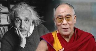 Dalai lama Albert Einstein