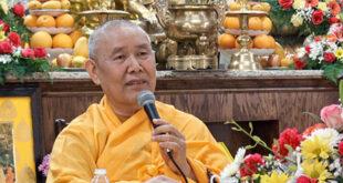 Thích Như Điển: Bổn phận của người Phật tử đối với Giáo hội
